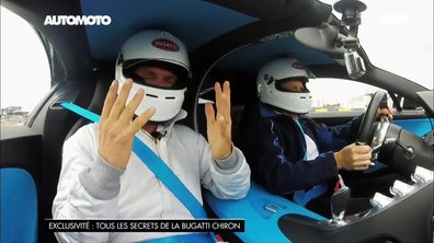 Exclu : La Bugatti Chiron à 380 km/h sur le circuit des 24H du Mans !