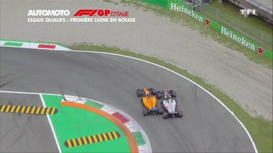 F1 - GP d'Italie - Essais qualifs : Une première ligne en rouge