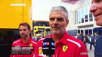 F1 - GP d'Italie : Interview de Maurizio Arrivabene