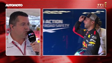 F1 - GP de France : Daniel Ricciardo chez McLaren ? La réponse d'Eric Boullier