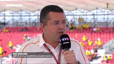 F1 - GP de France : Eric Boullier et Jean-Eric Vergne analysent les qualifcations