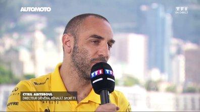 F1 - GP de Monaco : Cyril Abiteboul revient sur le début de saison de Renault