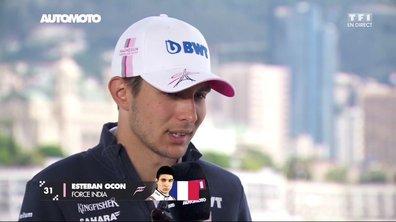 F1 - GP de Monaco : Esteban Ocon veut marquer de gros points