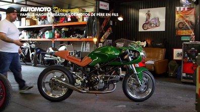 Famille Magri : Créateurs de motos de père en fils