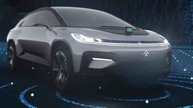 Faraday Future FF 91 2018 : Présentation officielle