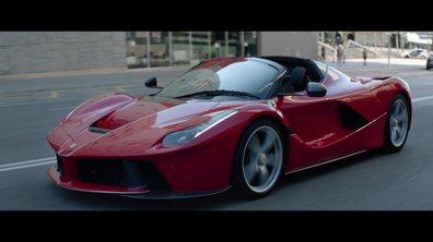 Ferrari LaFerrari Aperta 2017 : Présentation officielle avec Sebastian Vettel