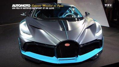 Mondial de l'Auto : Feu d'artifice de sport et de luxe