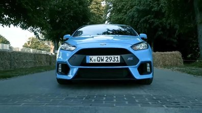 La Ford Focus RS 2015 en chemin vers Goodwood