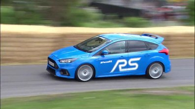 La Ford Focus RS avec Ken Block au Festival Goodwood 2015