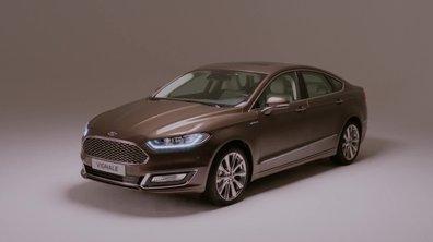 Ford Mondeo Vignale 2015 : présentation officielle