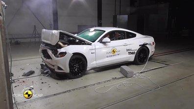 La Ford Mustang au crash-test EuroNCAP 2017