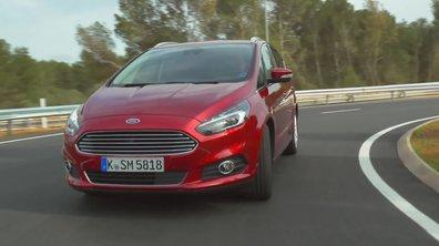 Ford S-Max 2015 : présentation officielle