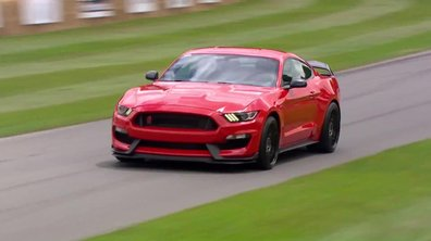 La Ford Shelby GT350R au Festival de Goodwood 2015