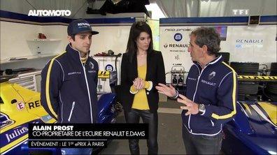 Formule E : l'interview d'Alain Prost et Nicolas Prost