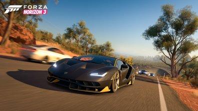 Forza Horizon 3 : l'Audi R8 V10+ à l'essai dans la forêt australienne !!!