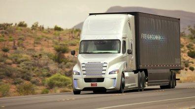 Freightliner Inspiration : le premier camion autonome