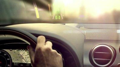 Futur Bentley Bentayga 2016 : l'intérieur en teaser