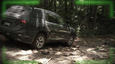 Le futur Volkswagen Atlas 2017 camouflé en cours d'essais