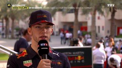 GP de Bahreïn : Leclerc, dans la cour des grands, Gasly au combat