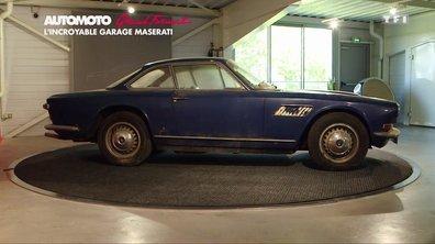 Grand format : Découverte d'un incroyable garage Maserati !