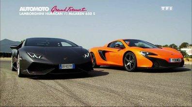 Grand Format : Lamborghini Huracan vs McLaren 650S, duel de supercars