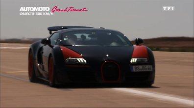 Grand Format : objectif 400 km/h en Bugatti Veyron Grand Sport Vitesse !