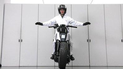 Honda présente une moto auto-équilibrée au CES 2017