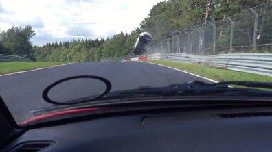 Insolite : le crash d'une Renault Mégane R.S. au Nürburgring