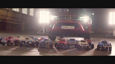 Insolite : La publicité Toyota pour le pick-up Hilux