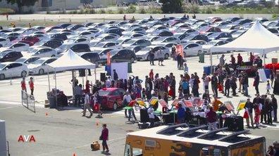 Insolite : Toyota  s'offre un record avec la plus longue parade de Prius du monde