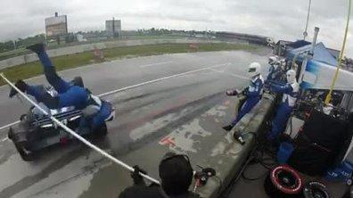Insolite : Un mécanicien fauché en Indycar