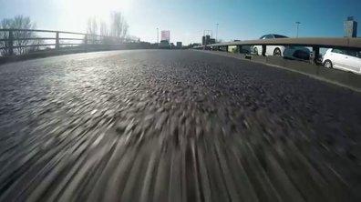Insolite : une Formule 1  se balade en ville