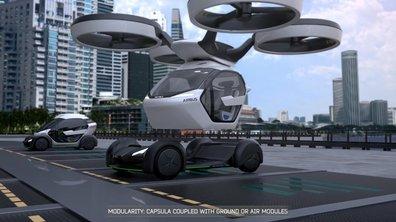 Italdesign-Airbus Pop Up Concept 2017 : Présentation officielle