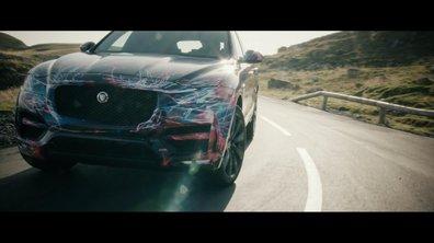 Jaguar F-Pace 2016 : présentation sous camouflage