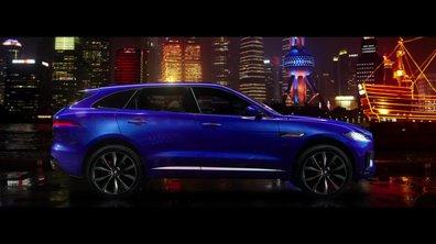 Jaguar F-Pace 2016 : présentation officielle... de profil