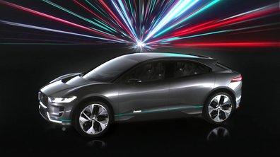 Jaguar I-Pace Concept 2016 : le futur SUV électrique mise sur le design