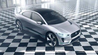 Jaguar I-Pace Concept 2016 : présentation officielle