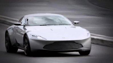 """James Bond """"Spectre"""": les Aston Martin DB10 et Jaguar C-X75 en tournage"""