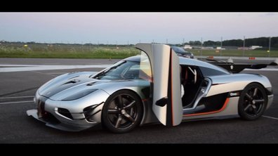 Koenigsegg One:1 : un 0-300-0 km/h en 17,95 secondes