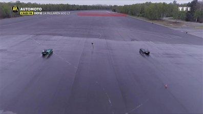 L'Audi R8 défie la McLaren 600 LT