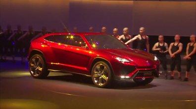 Lamborghini Urus Concept 2012 : présentation officielle