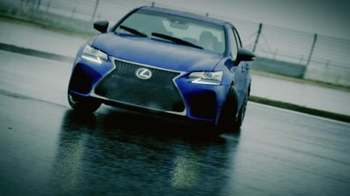 La Lexus GS F 2015 en action sur circuit !
