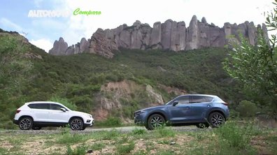Le match : Mazda CX-5 VS. Seat Ateca