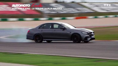 Exclu - Essai : La Mercedes-AMG E63 S 2017, la berline muscle-car ?