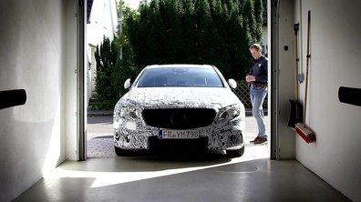 Mercedes-Benz Classe E 2016 : le stationnement via téléphone