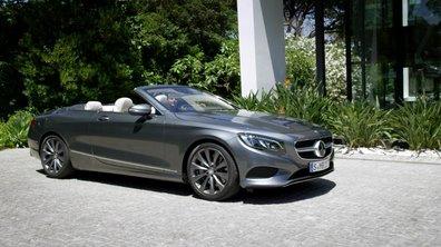 Mercedes-Benz Classe S Cabriolet 2015 : présentation officielle