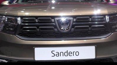 Mondial de l'Auto 2016 : Dacia Sandero, subtiles retouches pour la star