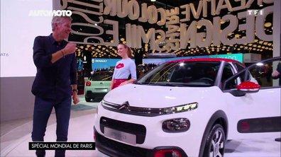 Mondial de l'Auto 2016 : Denis Brogniart et la Citroën C3