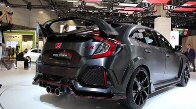 Mondial de l'Auto 2016 : Honda Civic Type R Concept, tout en muscles
