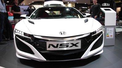 Mondial de l'Auto 2016 : Honda NSX, le supercar nippon de retour